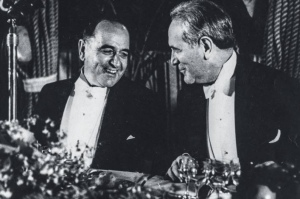 Getúlio Vargas e Oswaldo Aranha
